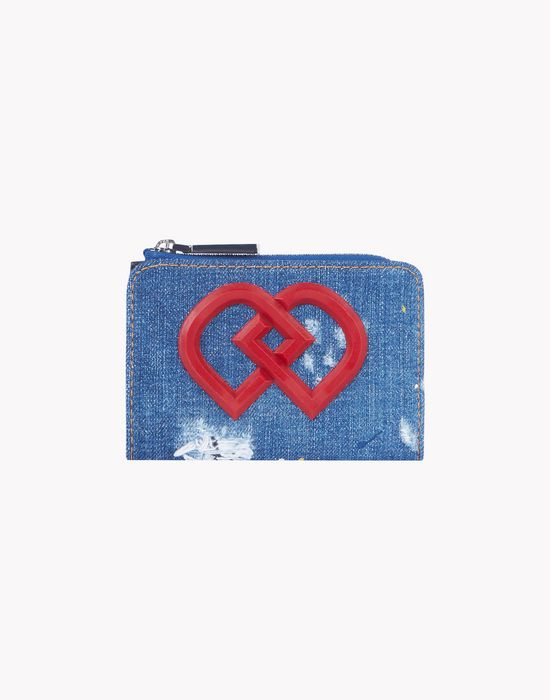denim dd small wallet other accessories Woman Dsquared2