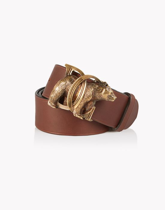 dc bear leather belt gürtel  Damen Dsquared2