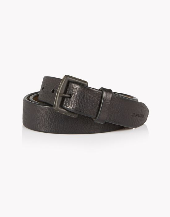 vintage leather belt belts Man Dsquared2