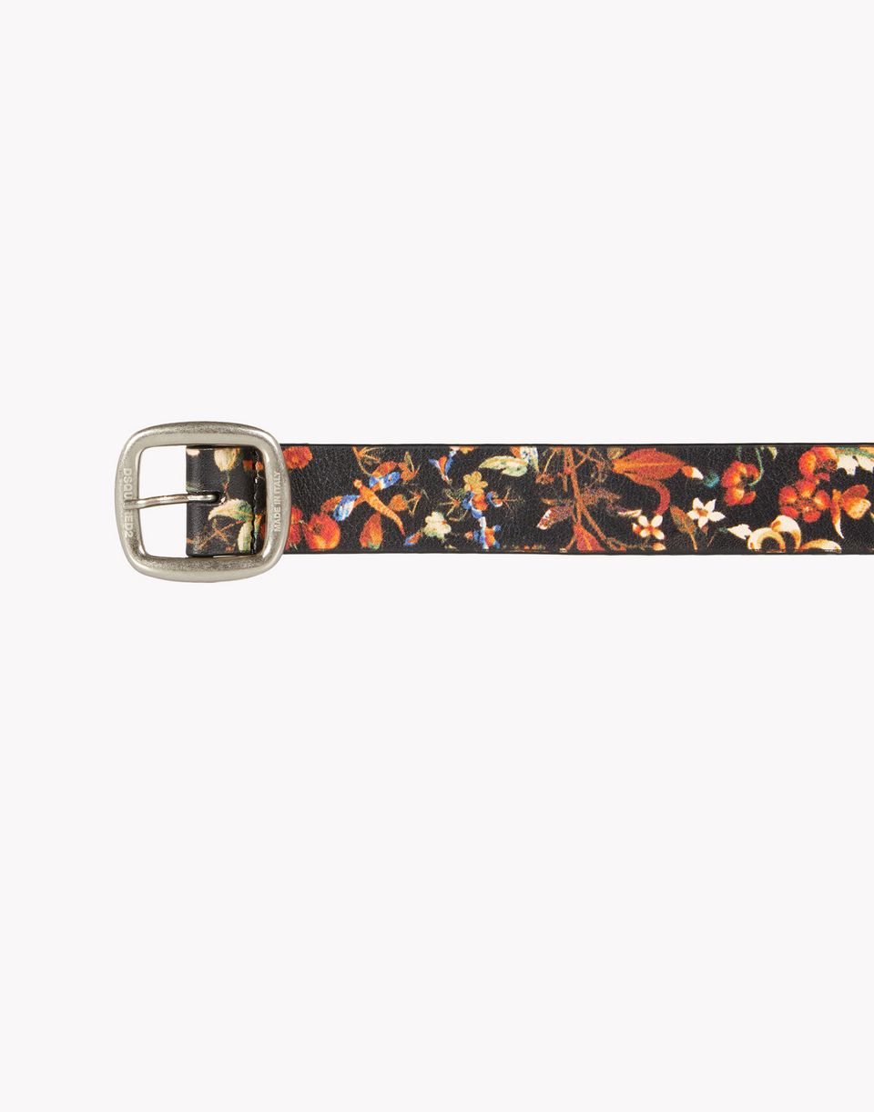 floral leather belt belts Woman Dsquared2