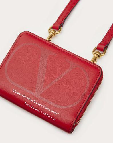 VALENTINO GARAVANI LOVE LAB Wallet with Neck Strap