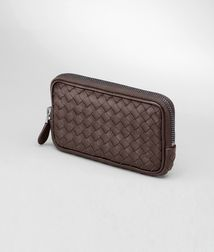 BOTTEGA VENETA - Mobile and Tech Accessories, Ebano Intrecciato Nappa Hi-tech Case