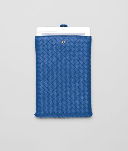 BOTTEGA VENETA - Électrique Intrecciato Nappa Mini Ipad Case