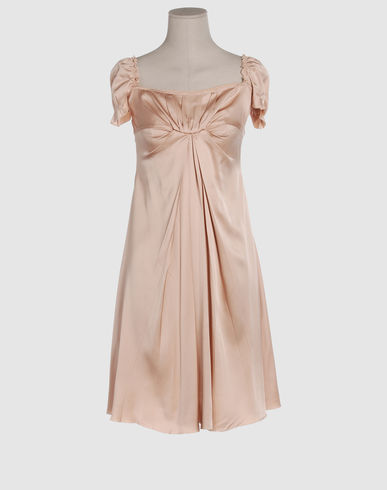 PRADA Women - Dresses - 3/4 length dress PRADA on YOOX :  34 length dress 3 gabbana women