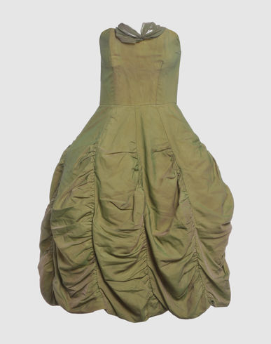 UNSIGNED Women - Dresses - 3/4 length dress UNSIGNED on YOOX :  34 length dress yoox women skirts