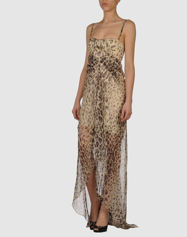 Long dress ERMANNO SCERVINO on YOOX