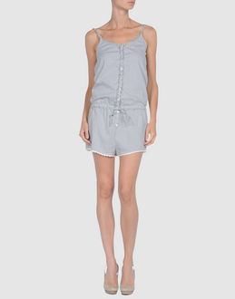 ..,MERCI DUNGAREES Short dungarees WOMEN on YOOX.COM