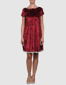 Robes courtes - ROSE' A POIS EUR 69.00