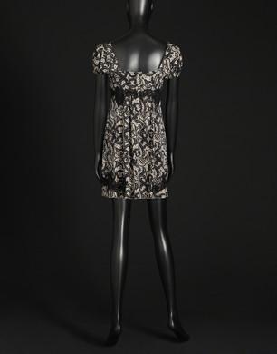 Abito effetto lingerie in seta - Vestiti corti - Dolce&Gabbana - Estate 2016