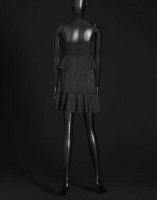 Charmeuse silk dress   - Short dresses - Dolce&Gabbana - Summer 2016
