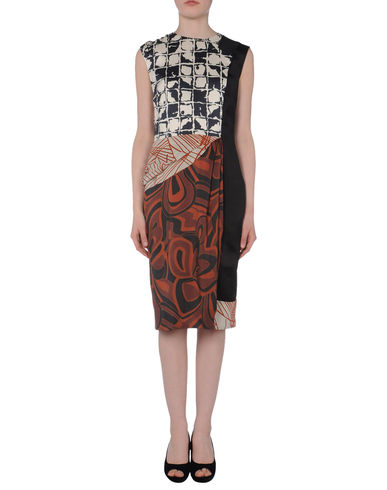 DRIES VAN NOTEN - 3/4 length dress