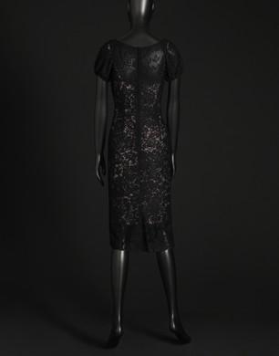 Filet lace dress - Short dresses - Dolce&Gabbana - Summer 2016