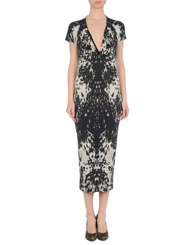 ALEXANDER MCQUEEN - 3/4 length dress