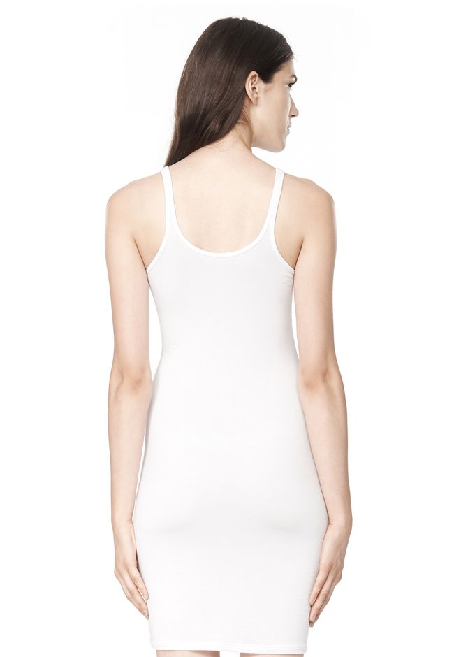 T by ALEXANDER WANG MODAL SPANDEX CAMI TANK DRESS Short Dress Adult 12_n_d