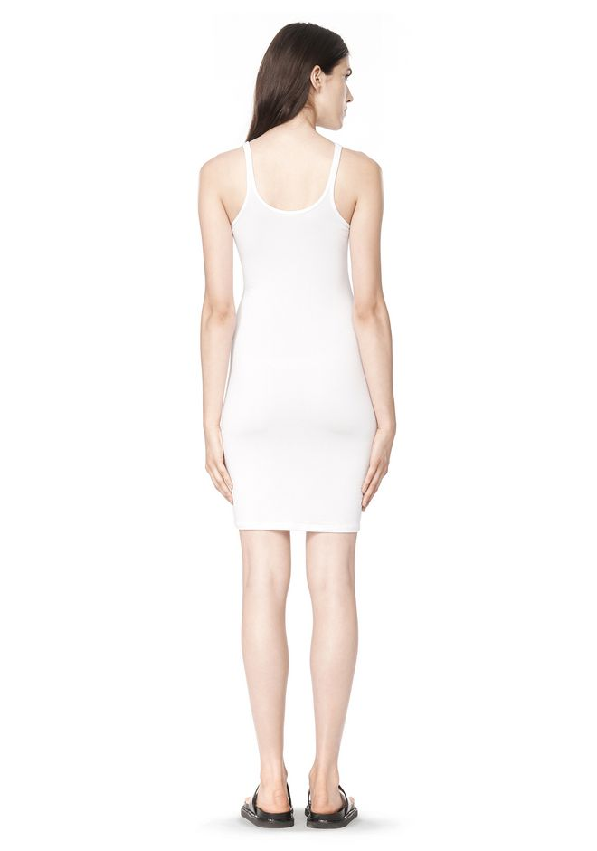 T by ALEXANDER WANG MODAL SPANDEX CAMI TANK DRESS Short Dress Adult 12_n_r