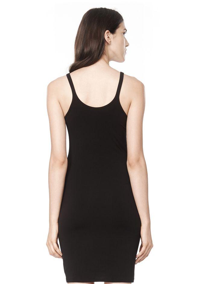 T by ALEXANDER WANG MODAL SPANDEX CAMI TANK DRESS Short Dress Adult 12_n_d