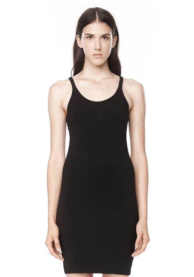 T by ALEXANDER WANG MODAL SPANDEX CAMI TANK DRESS Short Dress Adult 12_n_e