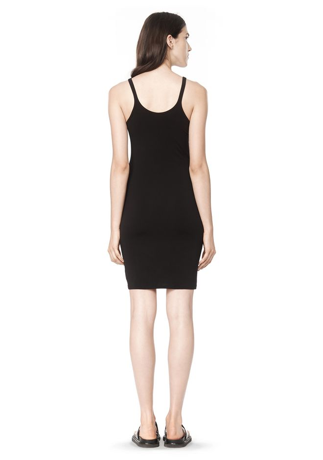 T by ALEXANDER WANG MODAL SPANDEX CAMI TANK DRESS Short Dress Adult 12_n_r