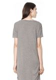 T by ALEXANDER WANG CLASSIC BOATNECK DRESS WITH POCKET Short Dress Adult 8_n_d