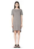 T by ALEXANDER WANG CLASSIC BOATNECK DRESS WITH POCKET Short Dress Adult 8_n_f