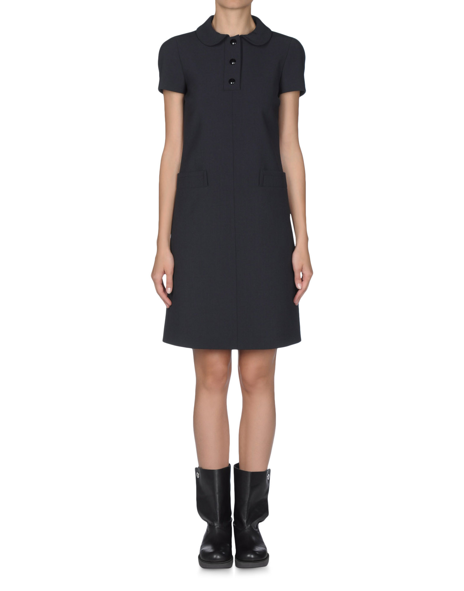 3/4 length dress - JIL SANDER NAVY Online Store