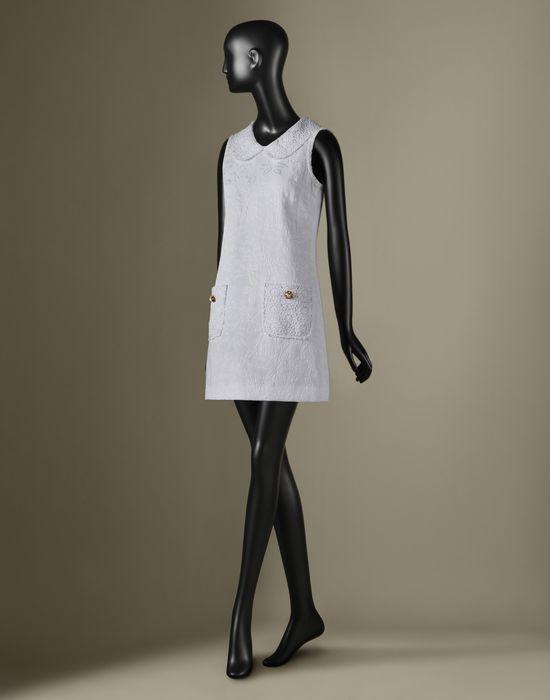ABITO CORTO IN JACQUARD - Vestiti corti - Dolce&Gabbana - Inverno 2016