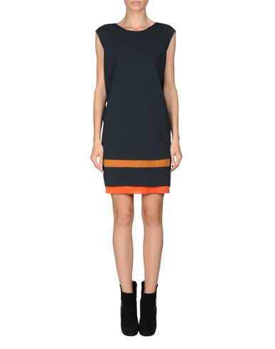 Contrast Layer Dress