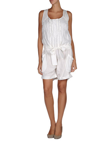 ERMANNO SCERVINO - Short pant overall