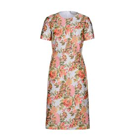 STELLA McCARTNEY, mini, Kleid Ridley mit Blumenjacquard
