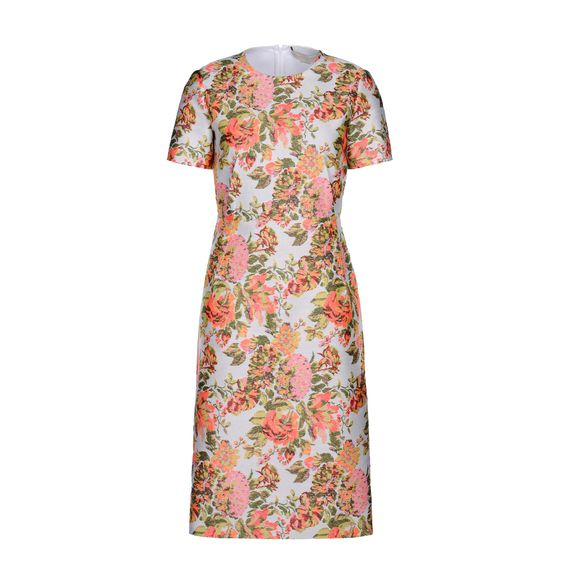Stella McCartney, Robe Ridley en jacquard floral