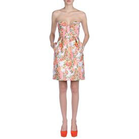 STELLA McCARTNEY, Corto, Abito Fletcher in Jacquard Fluo