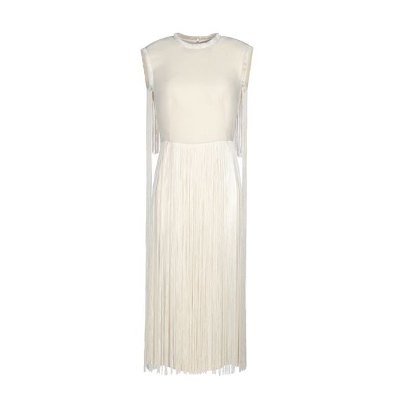 Stella McCartney, Calico Mix Cady Melrose Dress