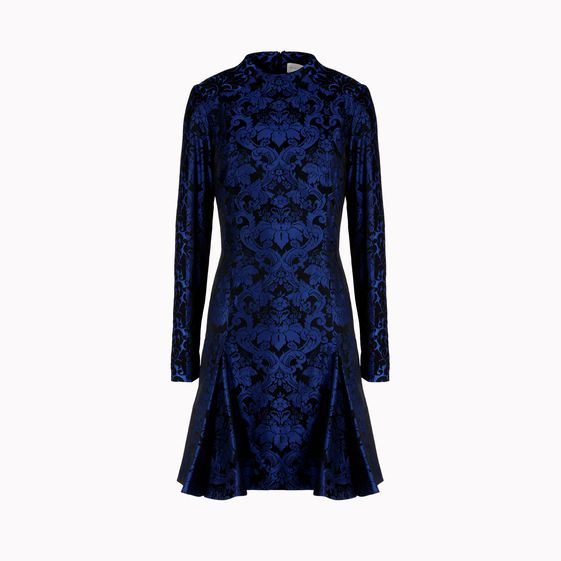 Stella McCartney, Kleid Ramona in Deep Egyptian Blue