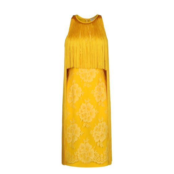 Stella McCartney, Walker Dress - Abito Citrus in Mix Cady