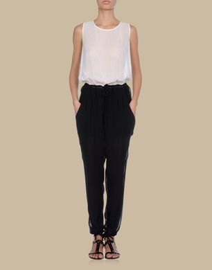 TJ TRUSSARDI JEANS - Pant overall