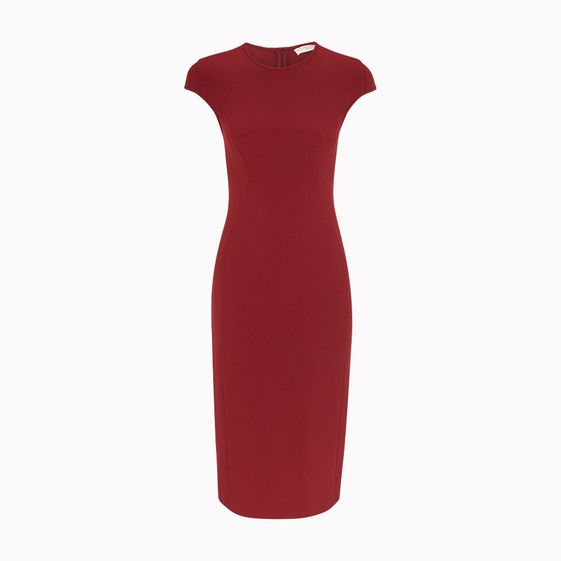 Stella McCartney, Milos Kleid aus Stretch-Cady
