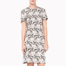 STELLA McCARTNEY, Mini, Flower Patterned Dress