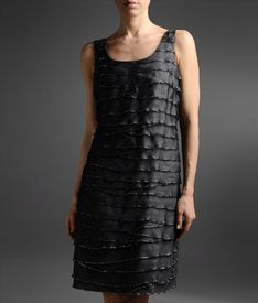 ARMANI COLLEZIONI - Appliqu dress