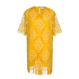 STELLA McCARTNEY, Gown, Citrus Cotton Lace York Mini Dress