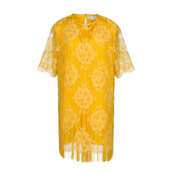 Stella McCartney, Citrus Cotton Lace York Mini Dress