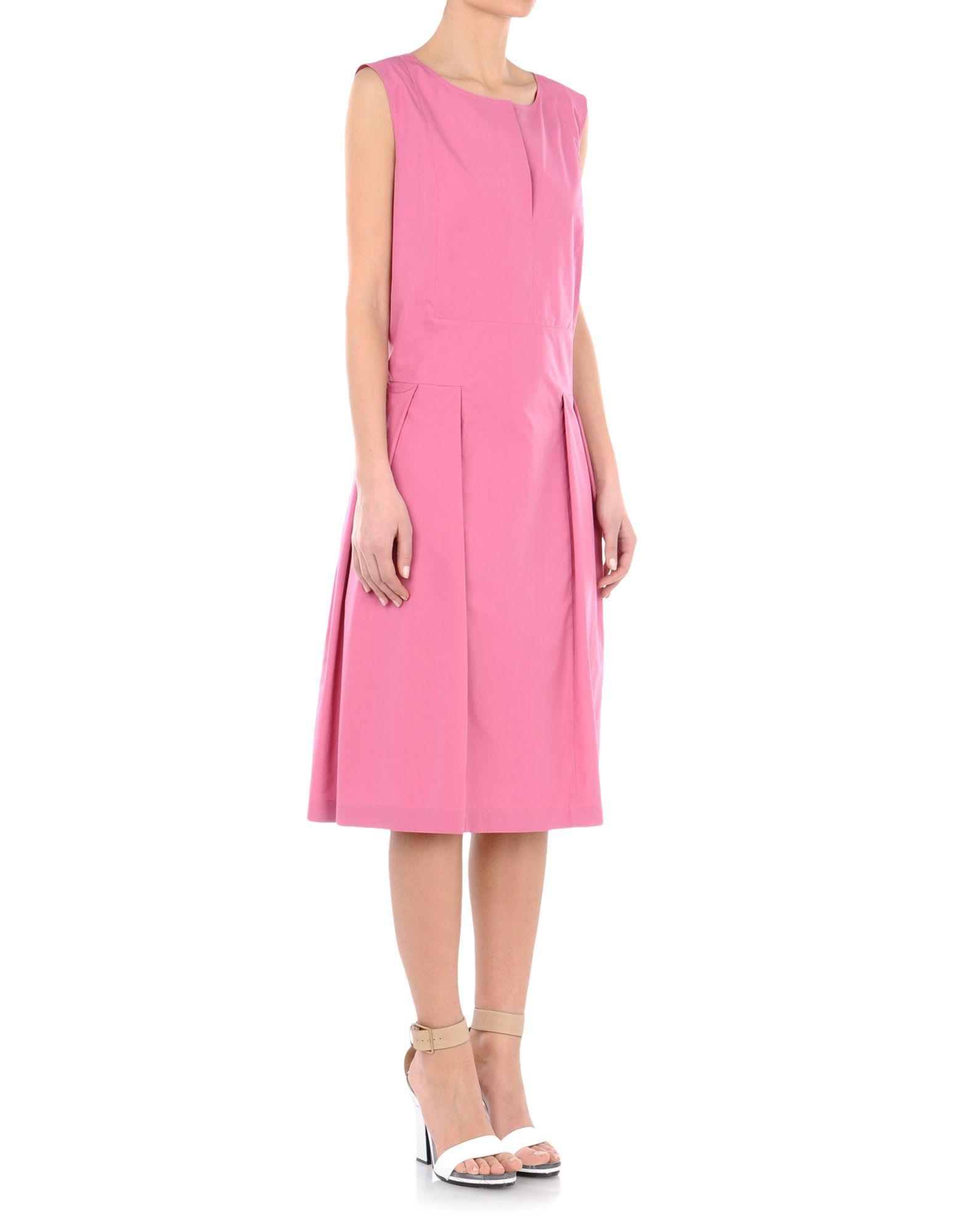 Wadenlanges Kleid - JIL SANDER Online Store
