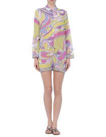EMILIO PUCCI - Short dungaree