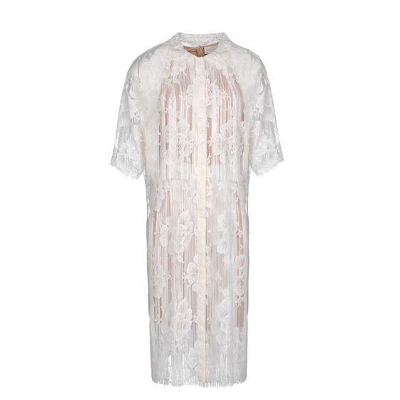 Stella McCartney, Off-White Cotton Lace Gerrard Dress