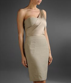 EMPORIO ARMANI - One-shoulder dress