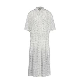STELLA McCARTNEY, maxi, Kleid Claudettemit gemaltem Punktemuster 
