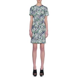 STELLA McCARTNEY, Mini, Neon Abstract Ridley Dress