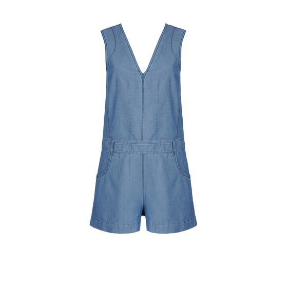 Stella McCartney, Einteiler  Millaaus Oxford Chambray