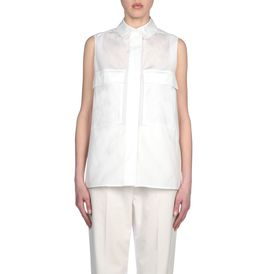 STELLA McCARTNEY, Shirt, Organic Jacquard Gia Shirt