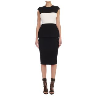 ALEXANDER MCQUEEN, Mid-length Dress, Block Stretch Pencil Dress