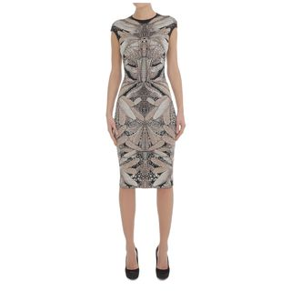 ALEXANDER MCQUEEN, Pencil Dress, Dragonfly Jacquard Pencil Dress